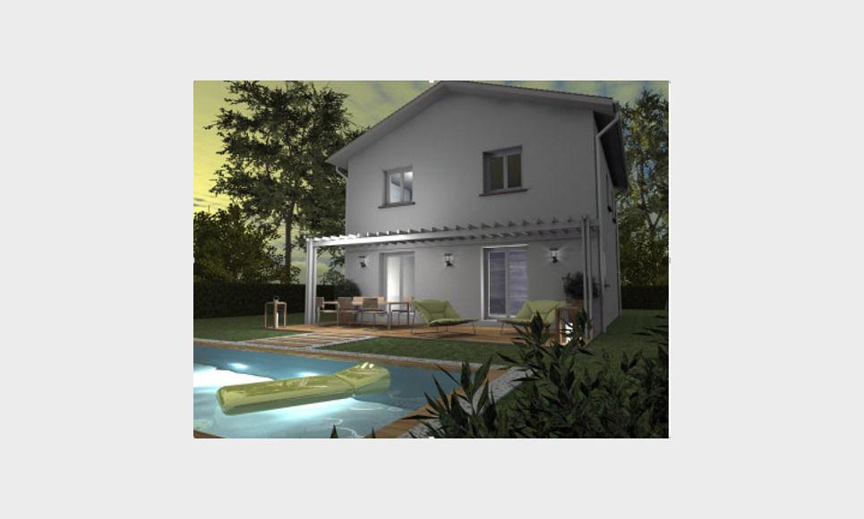 Maison contemporaine 4 pieces - Charnècles